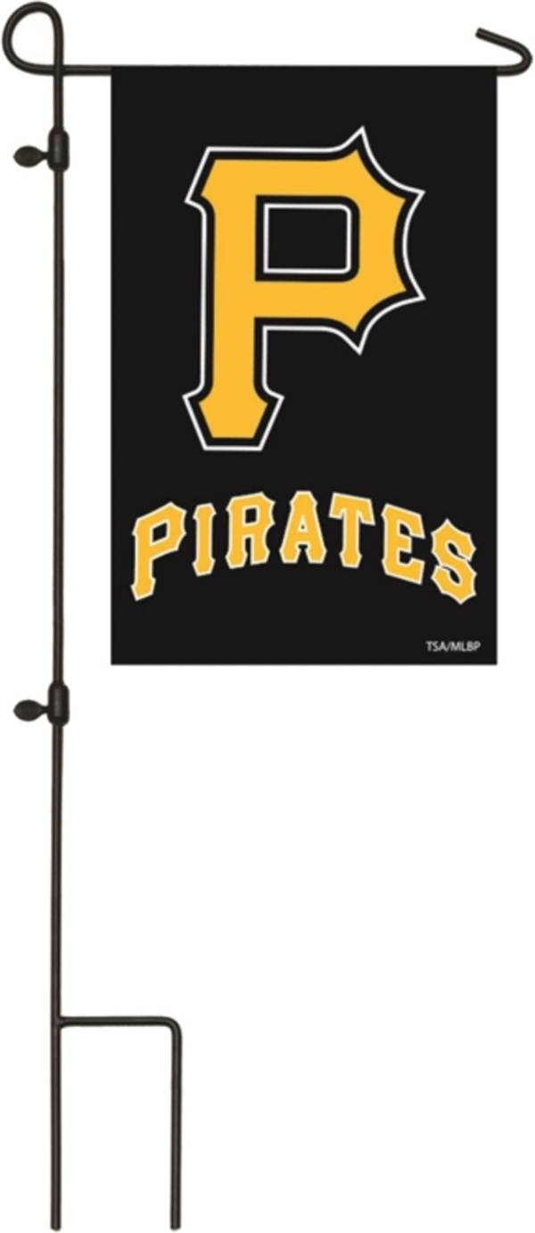 Evergreen Pittsburgh Pirates Applique Garden Flag product image
