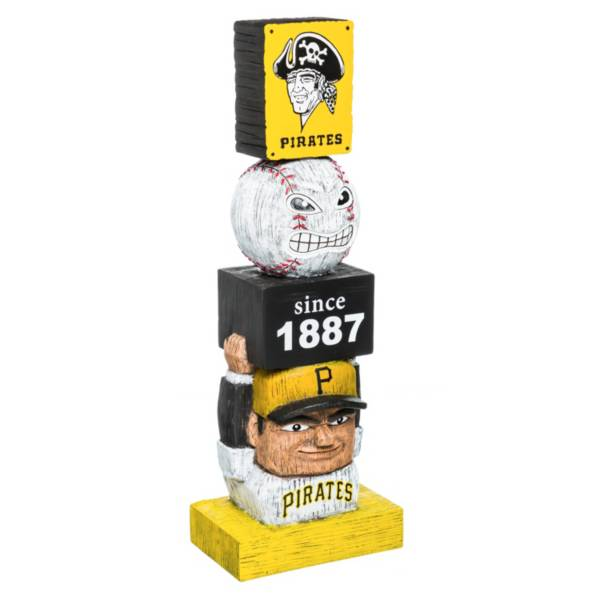 Evergreen Pittsburgh Pirates Vintage Tiki Totem product image
