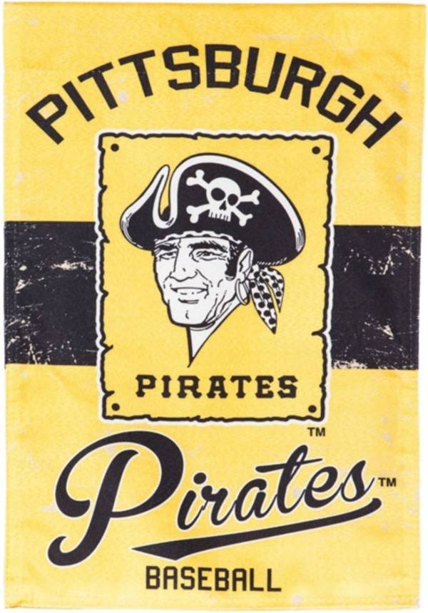 Evergreen Pittsburgh Pirates Vintage Garden Flag product image