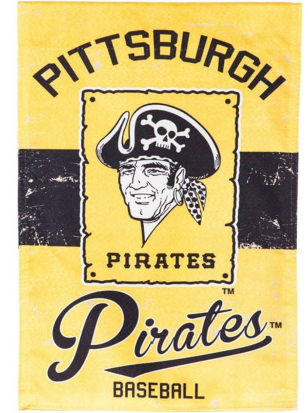 Evergreen Pittsburgh Pirates Vintage House Flag product image