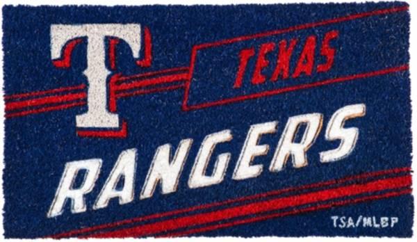 Evergreen Texas Rangers Coir Punch Mat product image