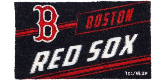 Evergreen Boston Red Sox Coir Punch Mat product image