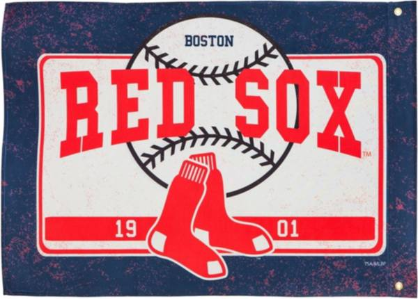 Evergreen Boston Red Sox Linen Estate Flag product image