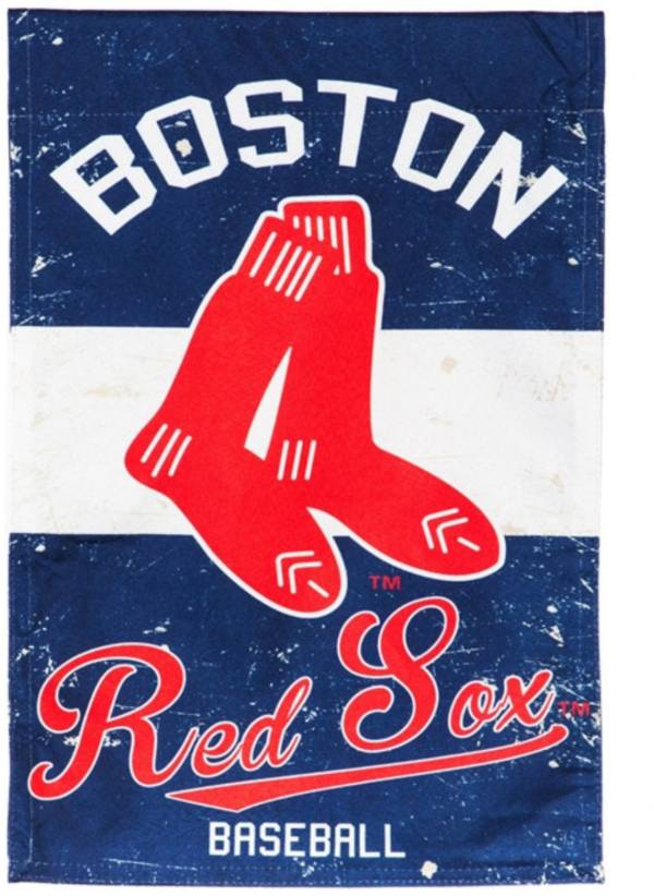 Evergreen Boston Red Sox Vintage House Flag product image
