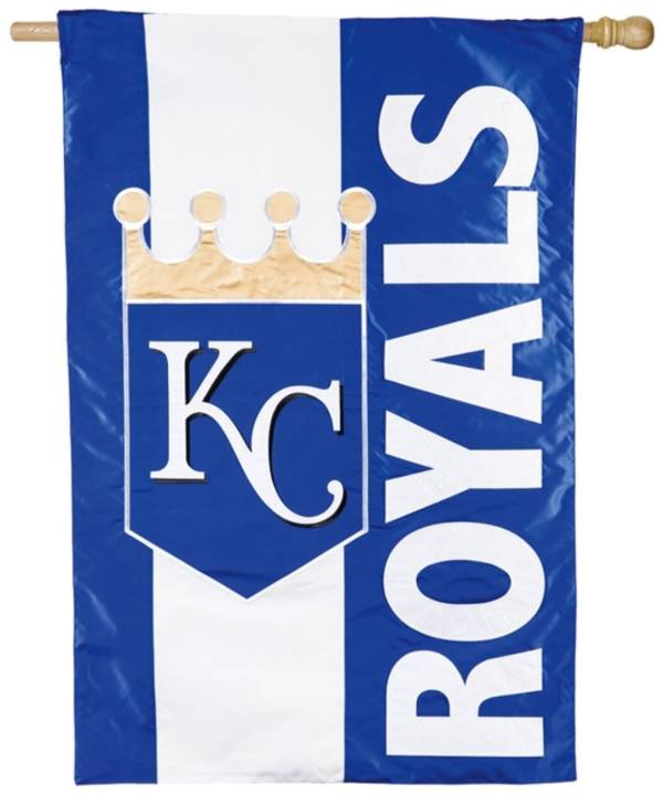 Evergreen Kansas City Royals Embellish House Flag product image
