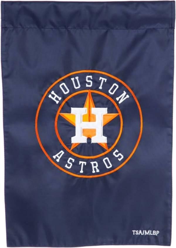 Evergreen Houston Astros Applique Garden Flag product image