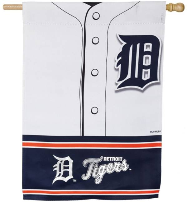 Evergreen Detroit Tigers Jersey House Flag product image