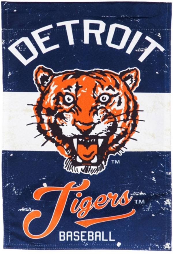 Evergreen Detroit Tigers Vintage House Flag product image