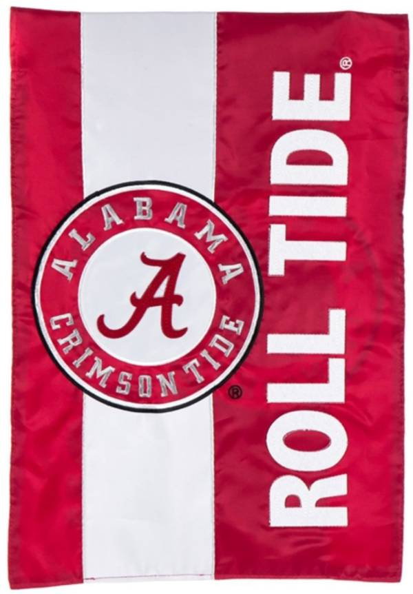 Evergreen Alabama Crimson Tide Embellish Garden Flag product image