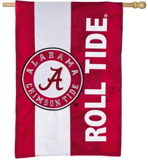 Evergreen Alabama Crimson Tide Embellish House Flag product image