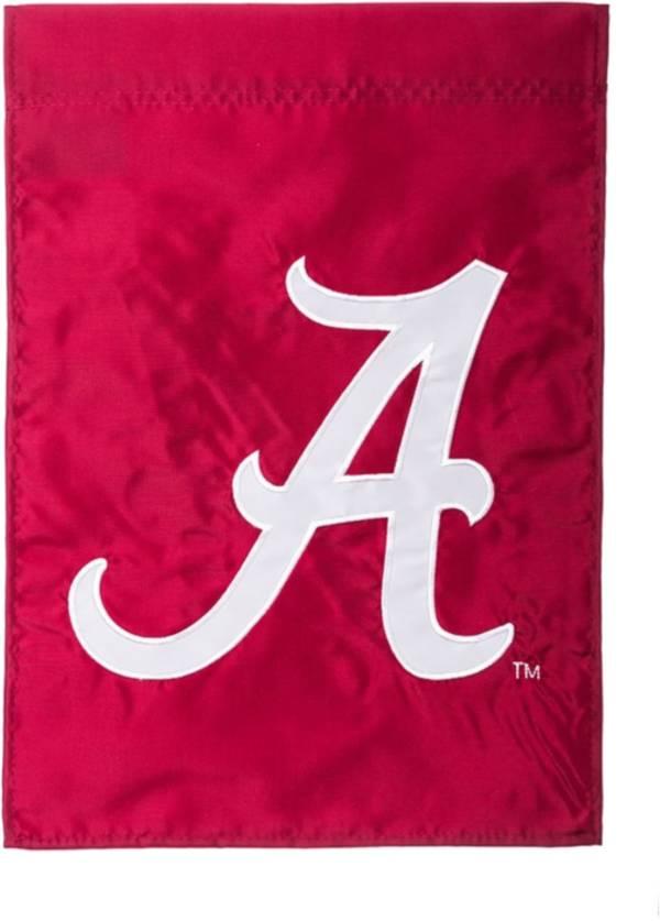 Evergreen Alabama Crimson Tide Applique Garden Flag product image