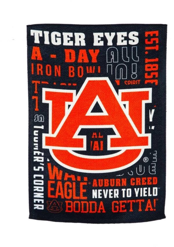 Evergreen Auburn Tigers Fan Rule House Flag product image