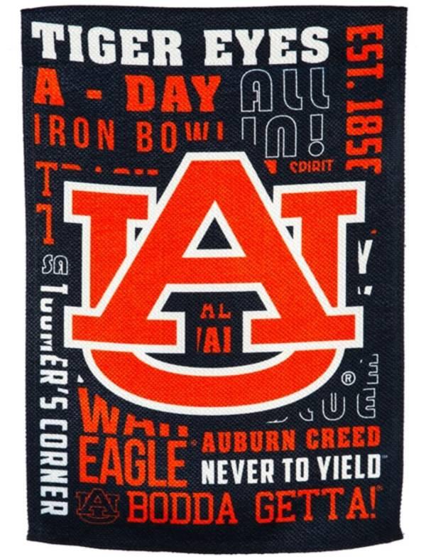 Evergreen Auburn Tigers Fan Rule Garden Flag product image