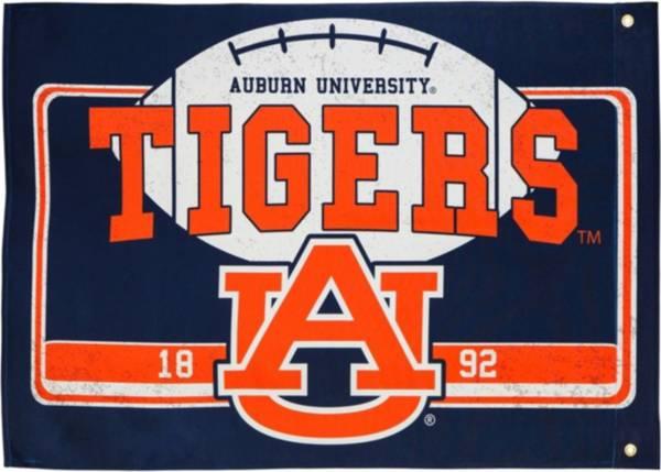 Evergreen Auburn Tigers Linen Estate Flag product image