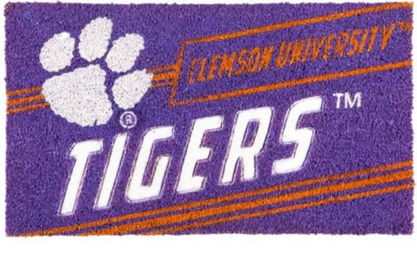 Evergreen Clemson Tigers Coir Punch Mat product image