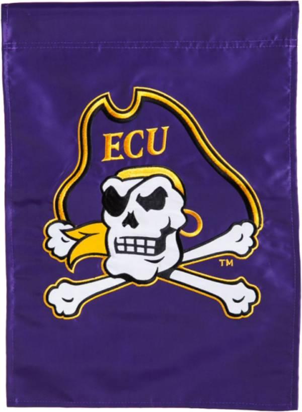 Evergreen East Carolina Pirates Applique Garden Flag product image