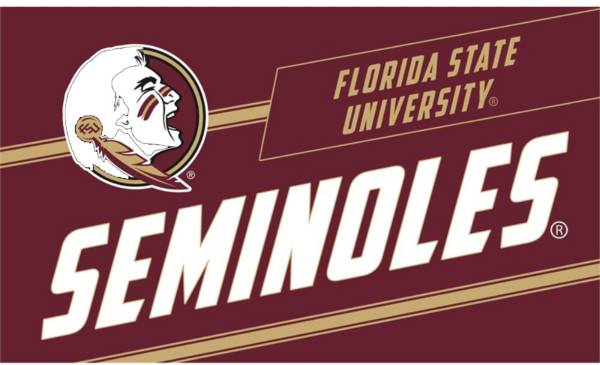 Evergreen Florida State Seminoles Coir Punch Mat product image