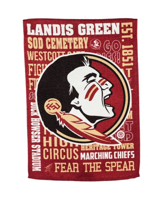 Evergreen Florida State Seminoles Fan Rule House Flag product image