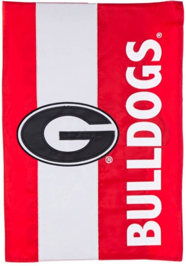 Evergreen Georgia Bulldogs Embellish Garden Flag product image