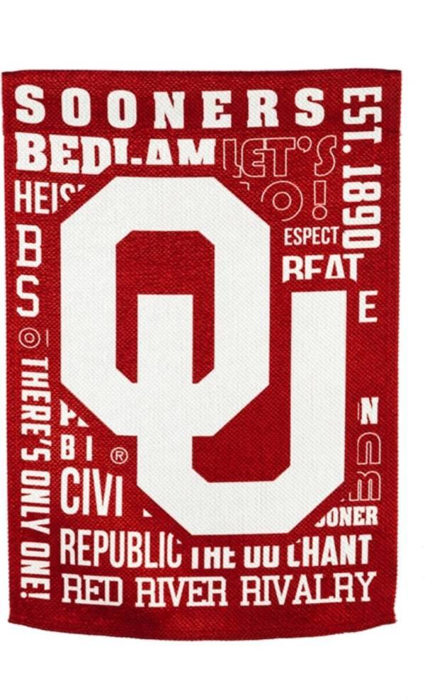 Evergreen Oklahoma Sooners Fan Rule House Flag product image