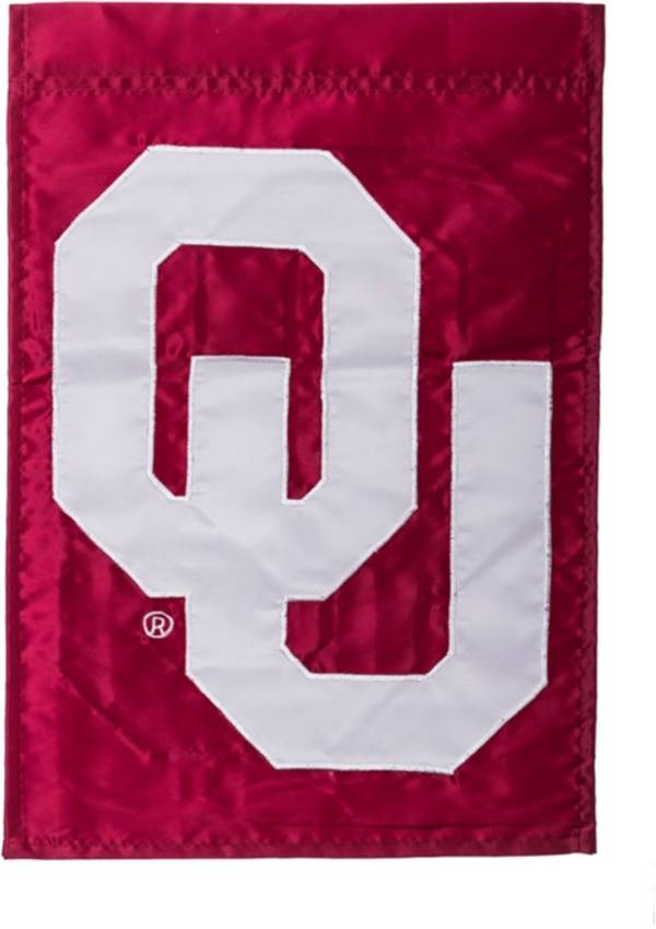 Evergreen Oklahoma Sooners Applique Garden Flag product image