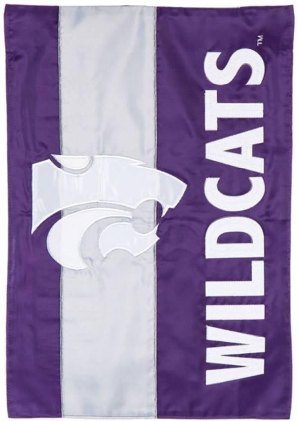 Evergreen Kansas State Wildcats Embellish Garden Flag product image