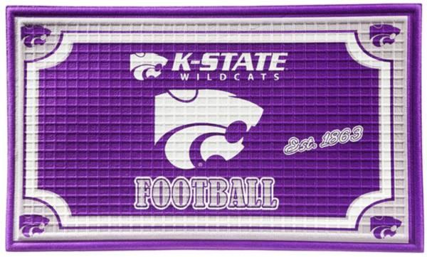 Evergreen Kansas State Wildcats Embossed Door Mat product image