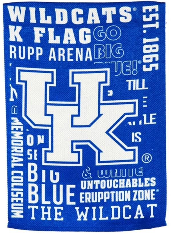 Evergreen Kentucky Wildcats Fan Rule House Flag product image