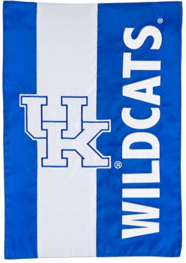 Evergreen Kentucky Wildcats Embellish Garden Flag product image