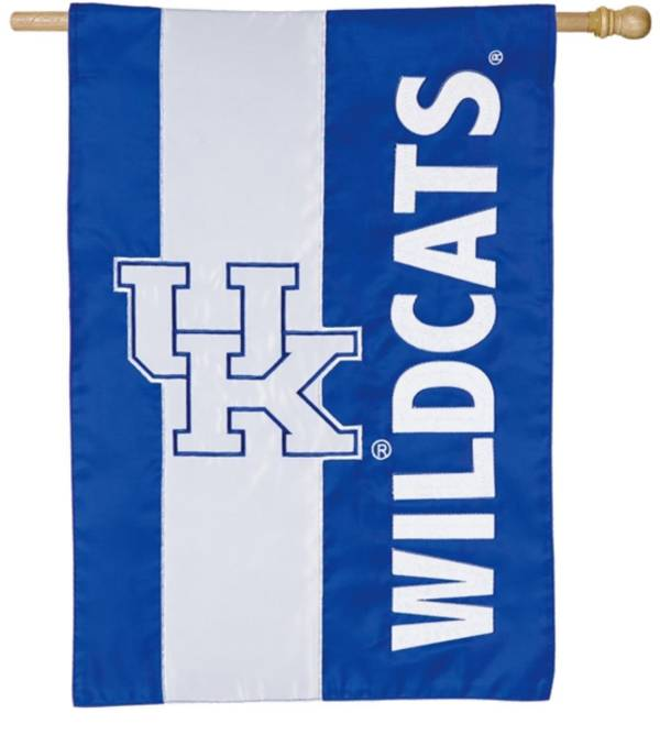 Evergreen Kentucky Wildcats Embellish House Flag product image