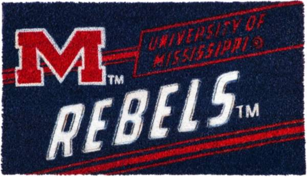 Evergreen Ole Miss Rebels Coir Punch Mat product image