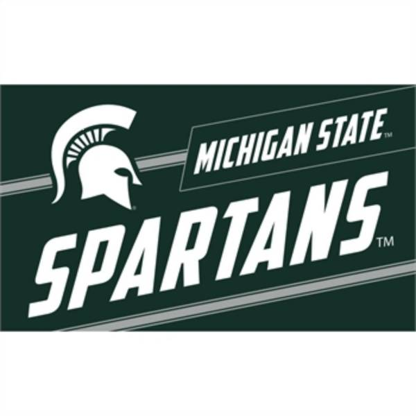 Evergreen Michigan State Spartans Coir Punch Mat product image