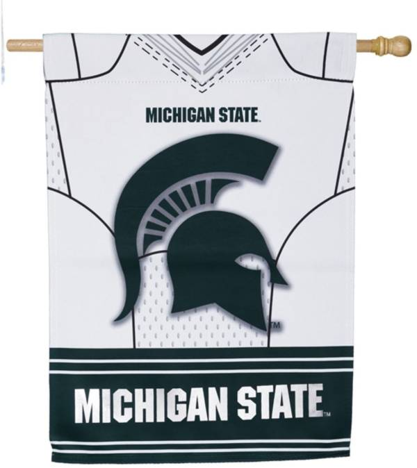 Evergreen Michigan State Spartans Jersey House Flag product image