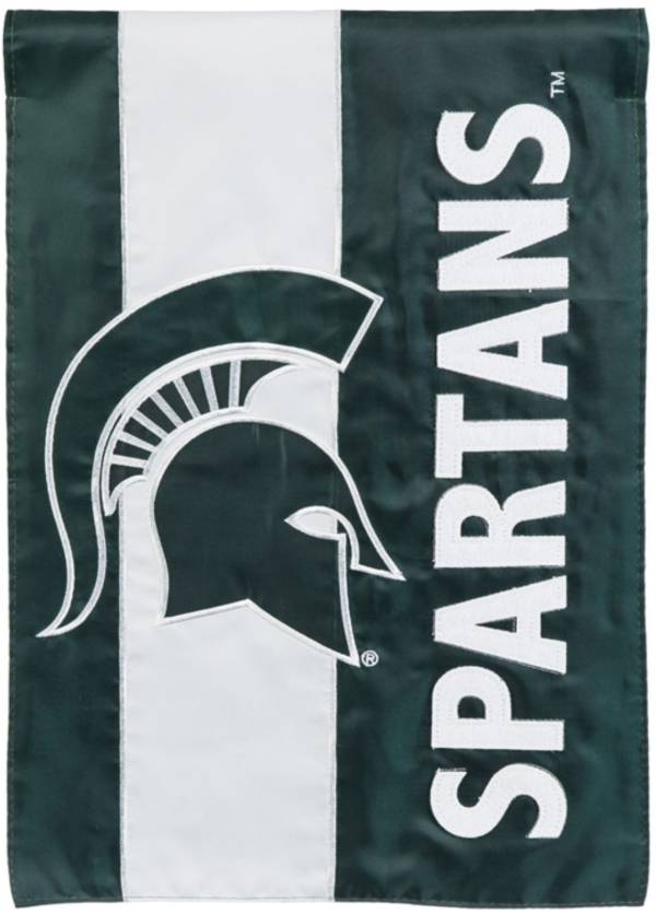 Evergreen Michigan State Spartans Embellish Garden Flag product image