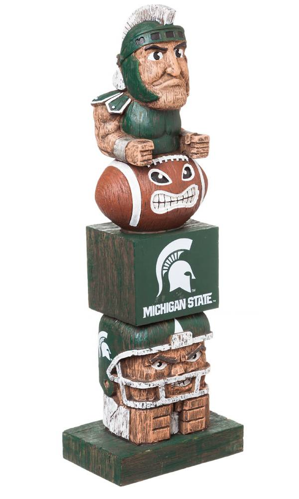 Evergreen Michigan State Spartans Tiki Totem product image