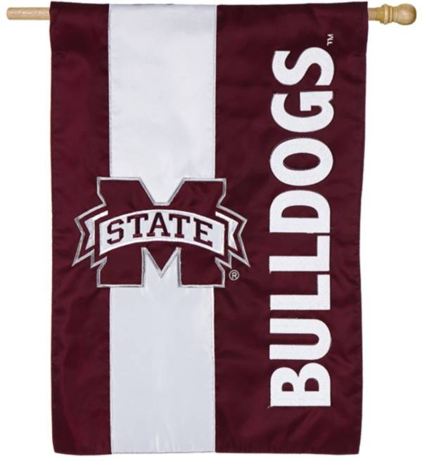 Evergreen Mississippi State Bulldogs Embellish House Flag product image