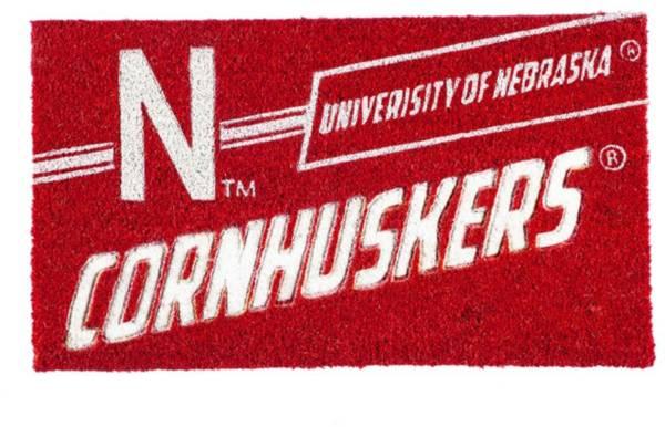 Evergreen Nebraska Cornhuskers Coir Punch Mat product image