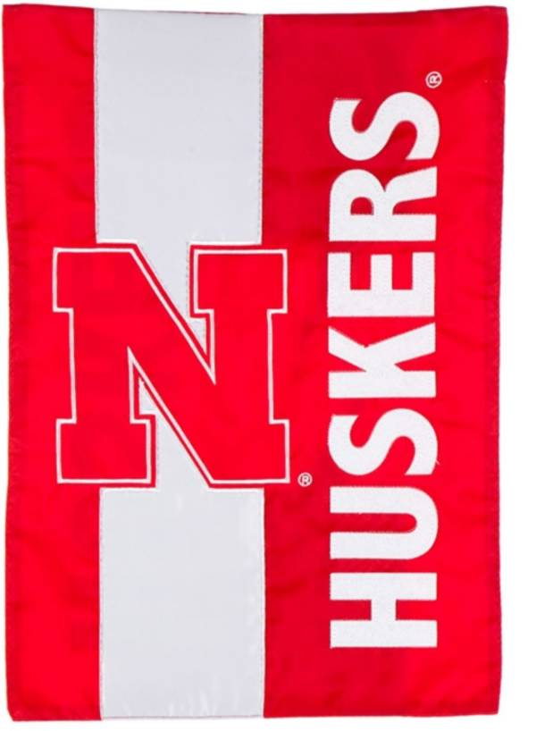 Evergreen Nebraska Cornhuskers Embellish Garden Flag product image
