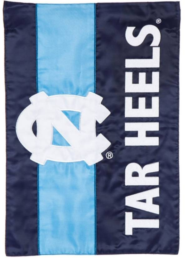 Evergreen North Carolina Tar Heels Embellish Garden Flag product image