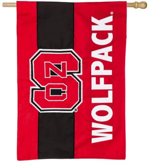 Evergreen NC State Wolfpack Embellish House Flag product image