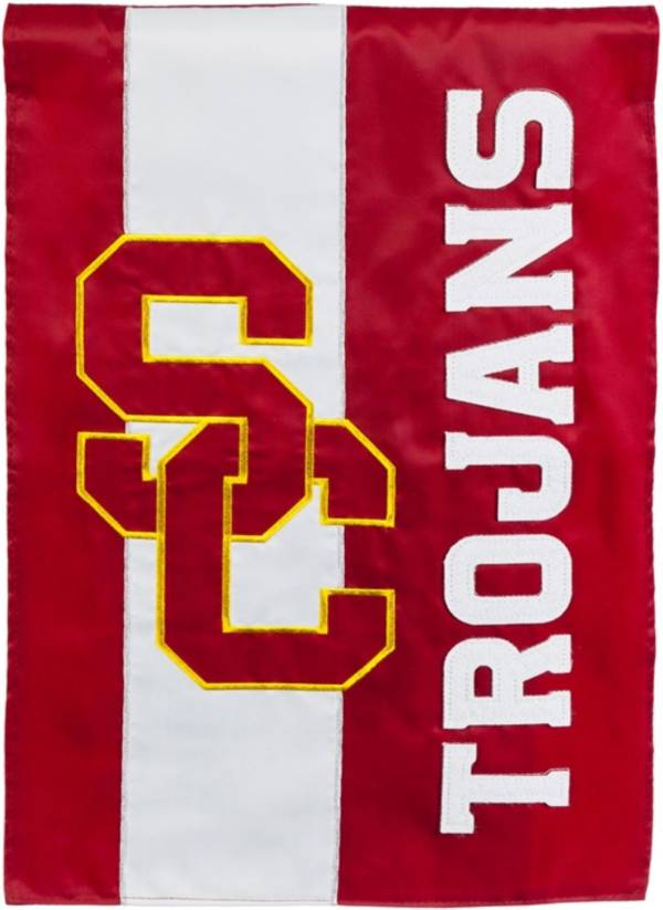 Evergreen USC Trojans Embellish Garden Flag product image