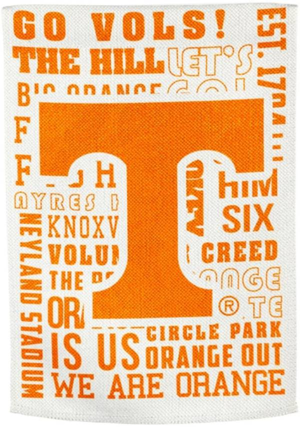 Evergreen Tennessee Volunteers Fan Rule House Flag product image