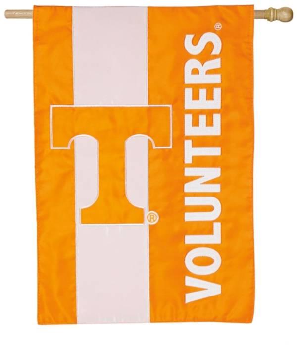 Evergreen Tennessee Volunteers Embellish House Flag product image