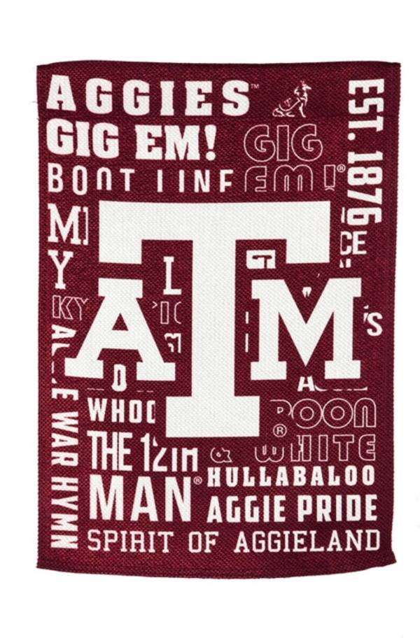 Evergreen Texas A&M Aggies Fan Rule House Flag product image