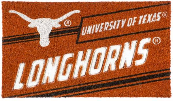 Evergreen Texas Longhorns Coir Punch Mat product image
