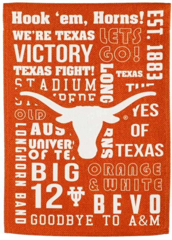 Evergreen Texas Longhorns Fan Rule Garden Flag product image