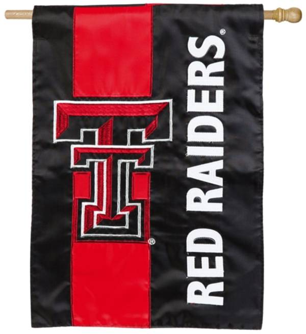 Evergreen Texas Tech Red Raiders Embellish House Flag product image