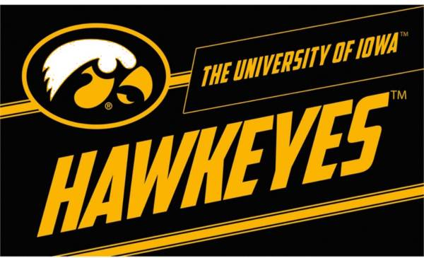 Evergreen Iowa Hawkeyes Coir Punch Mat product image