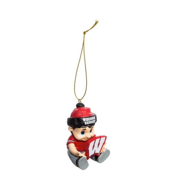 Evergreen Enterprises Wisconsin Badgers New Lil Fan Ornament product image