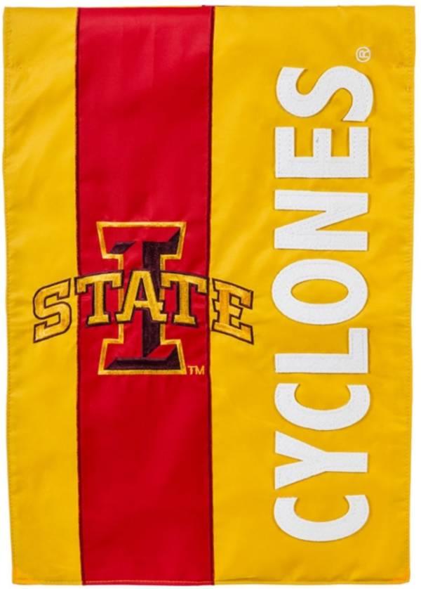 Evergreen Iowa State Cyclones Embellish Garden Flag product image